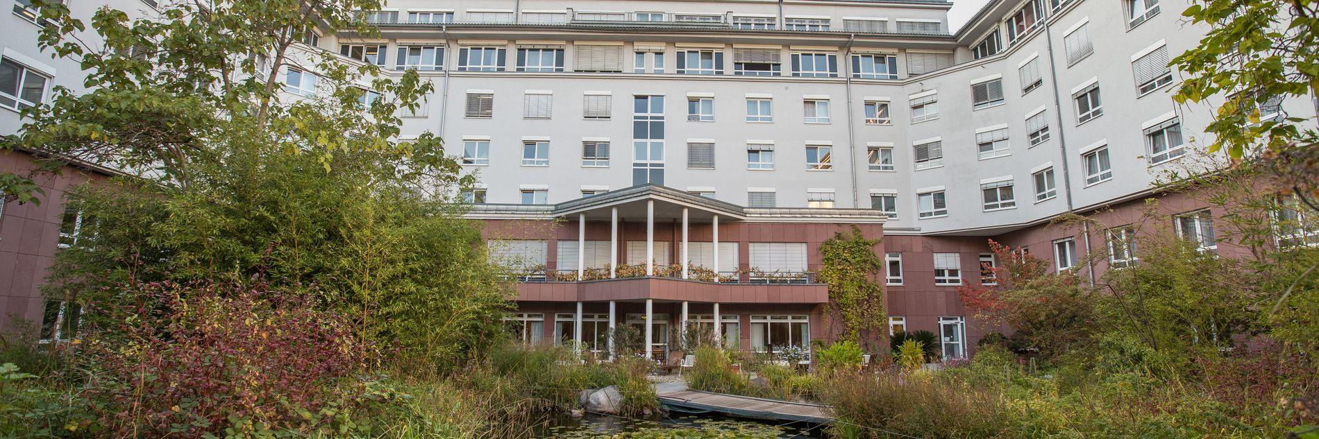 Außenansicht: Universitätsklinikum Freiburg Klinik für Onkologische Rehabilitation