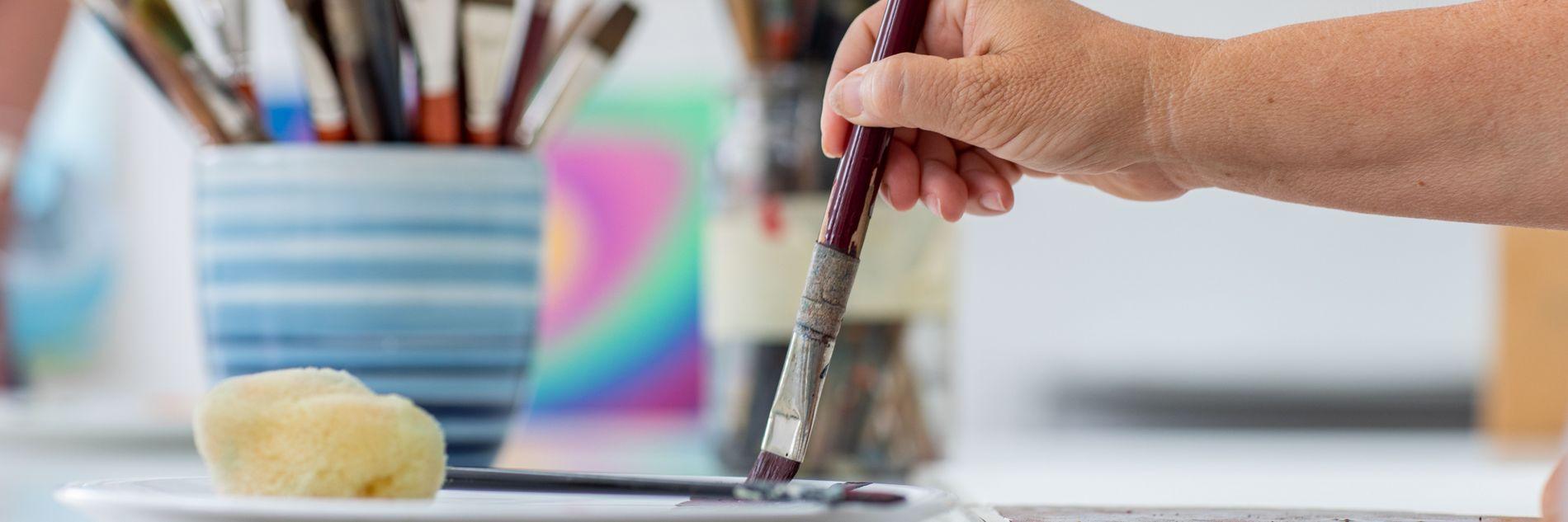 Pinsel & Farben
